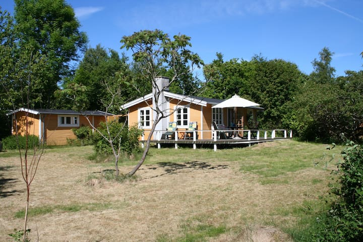 Cozy cottage close to the beach - Graested - Houten huisje