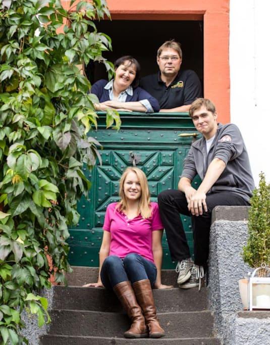 Familie Borchert, Springiersbacher Hof in Ediger