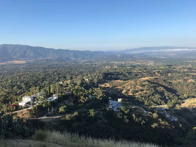 Soar over Ojai--it's all about the view.