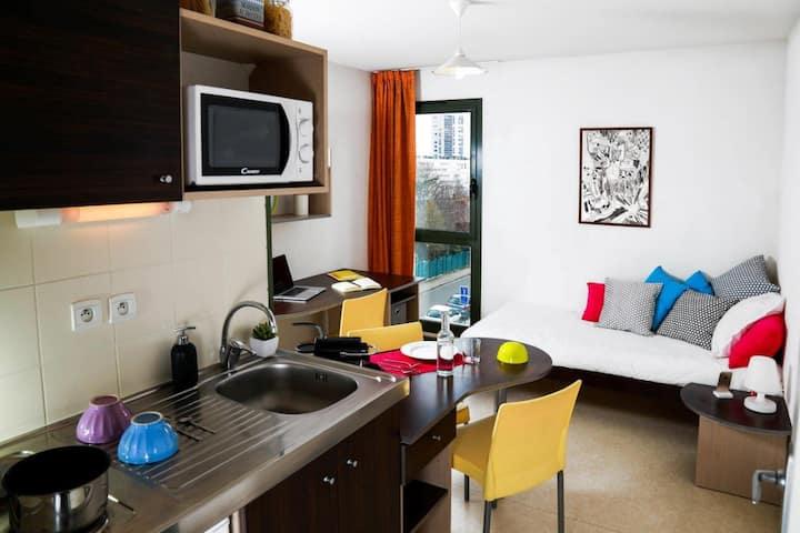 Studio meublé plein centre de Roanne