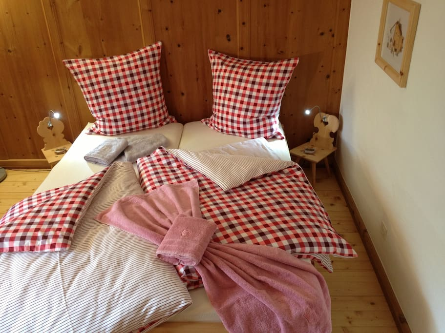 All you need for two guests to sleep like in heaven!
