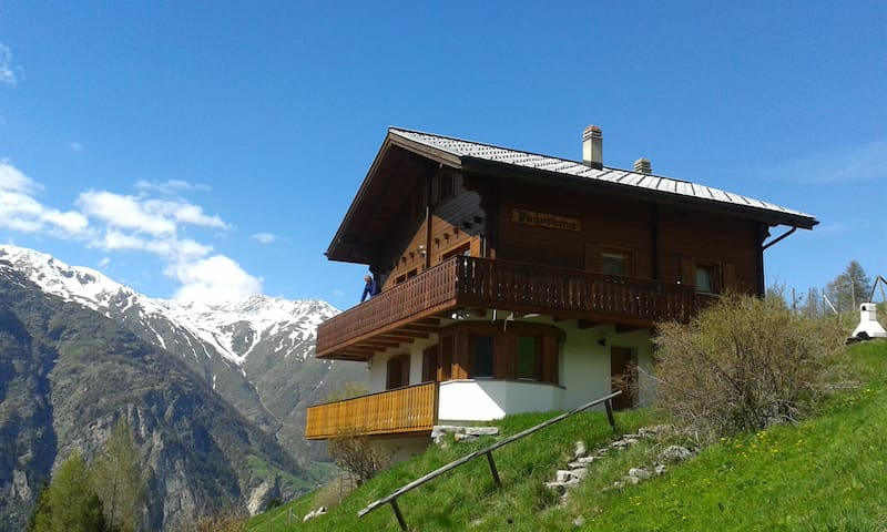 Chalet Panorama - cosy apartment in nature - Sankt Niklaus - Xalet