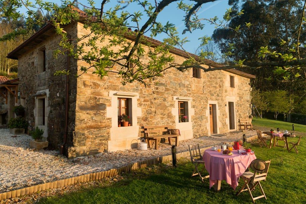 Casa da torre branca ven y disfruta de santiago hot is - Casa rural con encanto galicia ...
