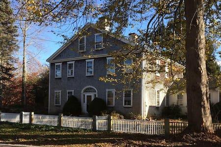 Historic Samuel Church Estate in Adamsville, RI