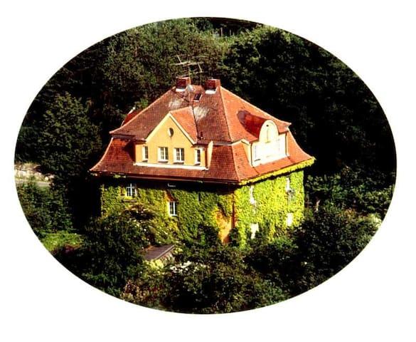 Ap Villa Burgblick Whg Toscana - Falkenstein - Lägenhet