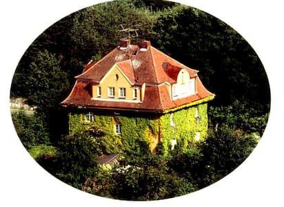 Ap Villa Burgblick Whg Toscana - Falkenstein - Huoneisto