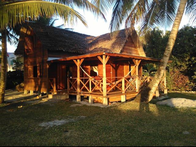 Maison traditionelle en bois