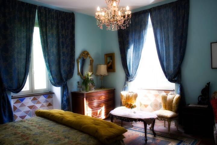 B&B Quarto Paradiso Blue room
