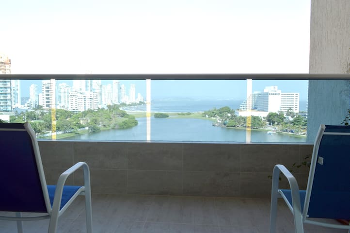 Balcón con vista al mar / Seaview Balcony