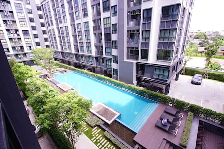 ★ Swimming pool view Room ★opposite to KU sriracha