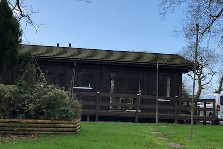 Log  Cabin at Oakfield House near Pyle