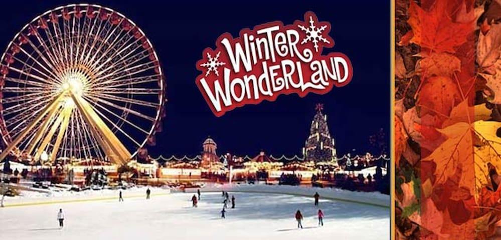 Winter Wonderland every Nov to January in London