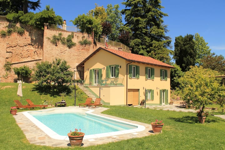 Trilocale in casa di campagna nel Monferrato