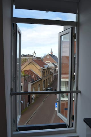 Hospitable city centre app w/ terrace + wifi