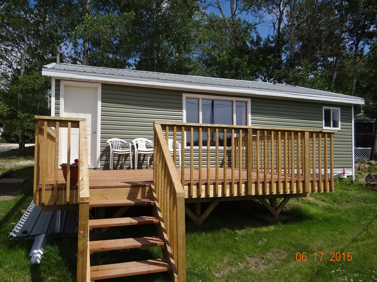Water View Cabin Cottages For Rent In Lac Du Bonnet