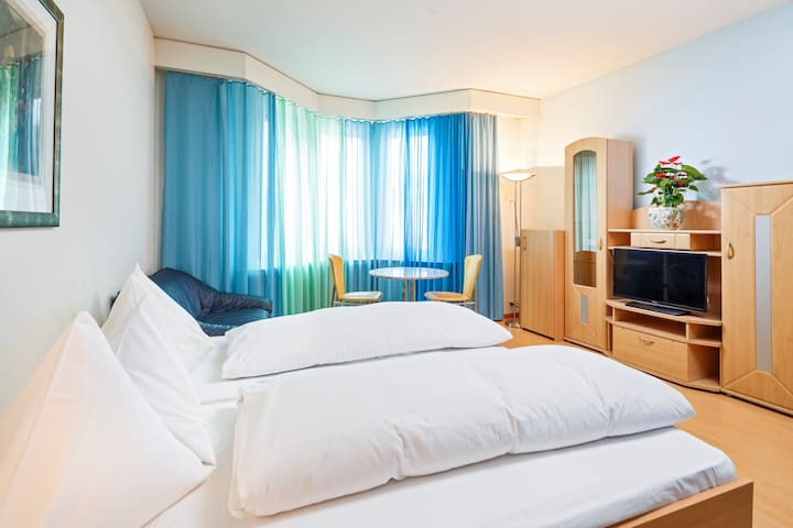 Residence zum Löwen Double room - Luzern - Hostel