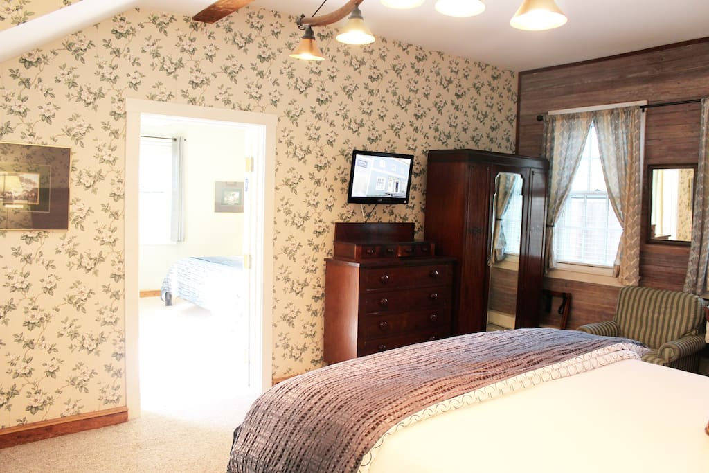 The Barstow Suite (King/King) - Main Room, Carriage House, 1st Floor