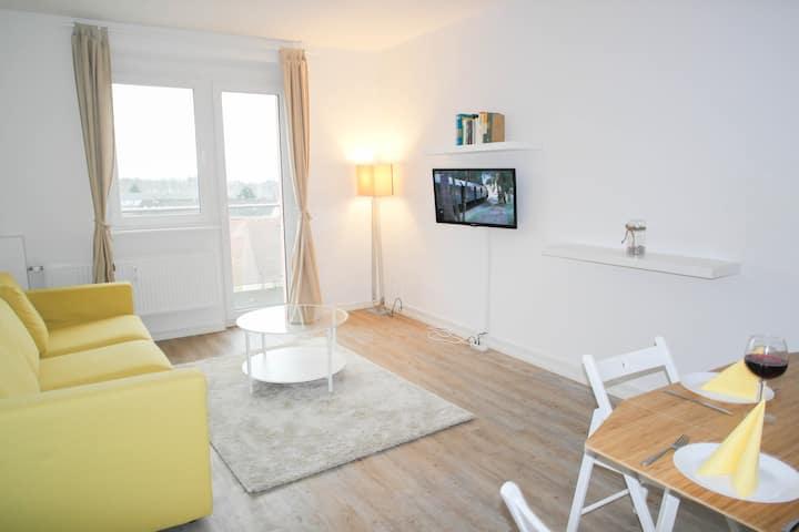 Sonniges, helles Apartment mit Seeblick