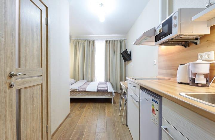 Удобная тихая квартира в центре города.