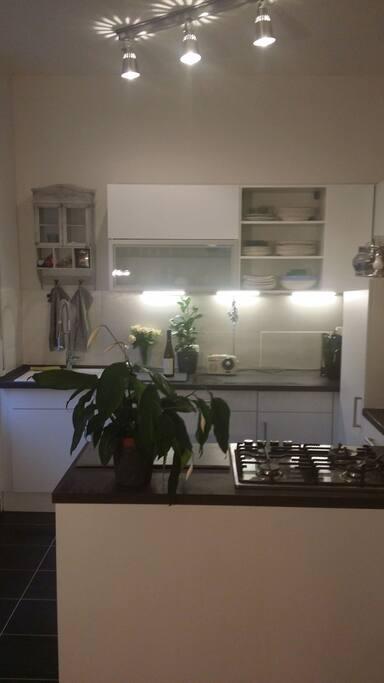 Gäste können die Küche jederzeit benutzen