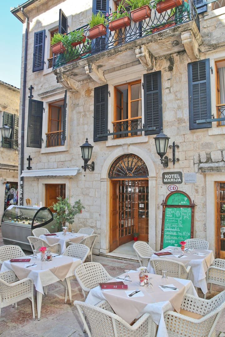 'Hotel Marija' -The heart of the Old Town of Kotor