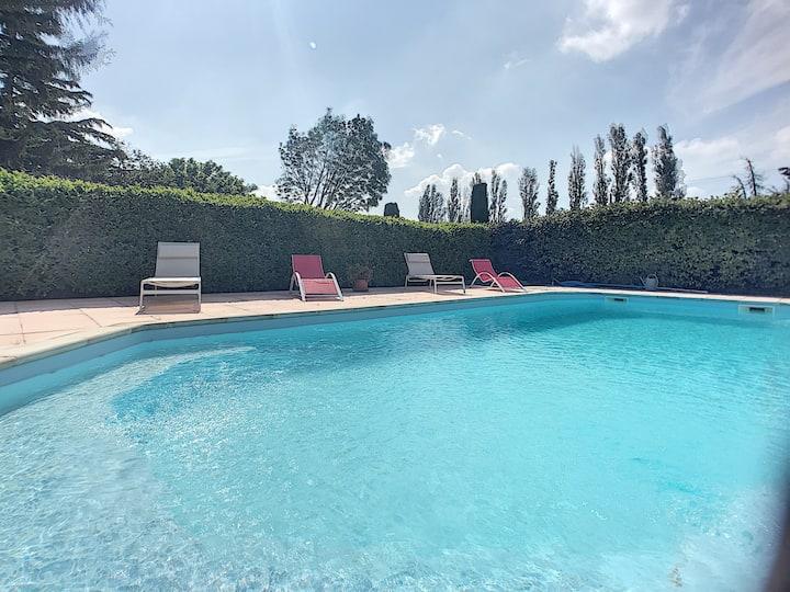 Villa piscine privée campagne d'Eygalières