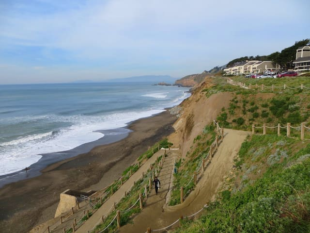 Comfy Pacifica Apartment! - Pacifica - Appartement