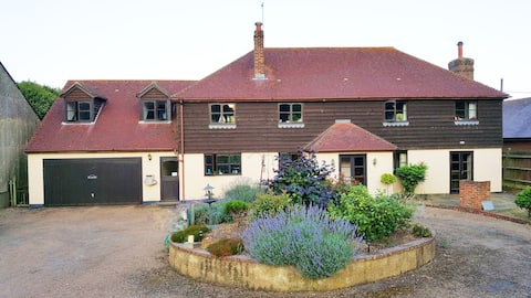 Come and stay on a busy working farm.