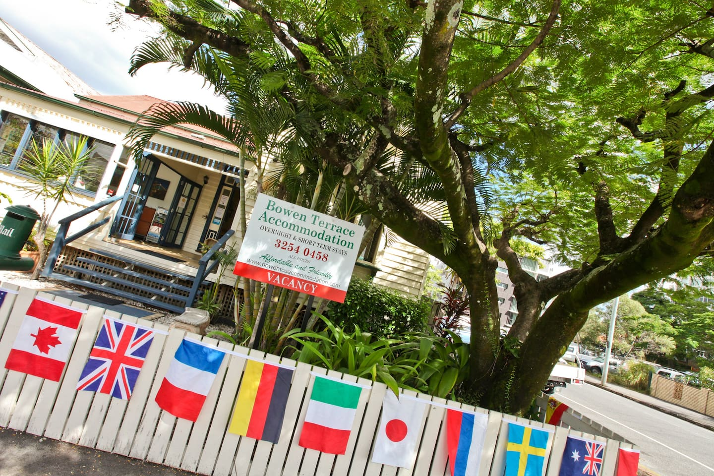 Our Queenslander is nearly 100 years old and offers a great insight into Brisbane's history.