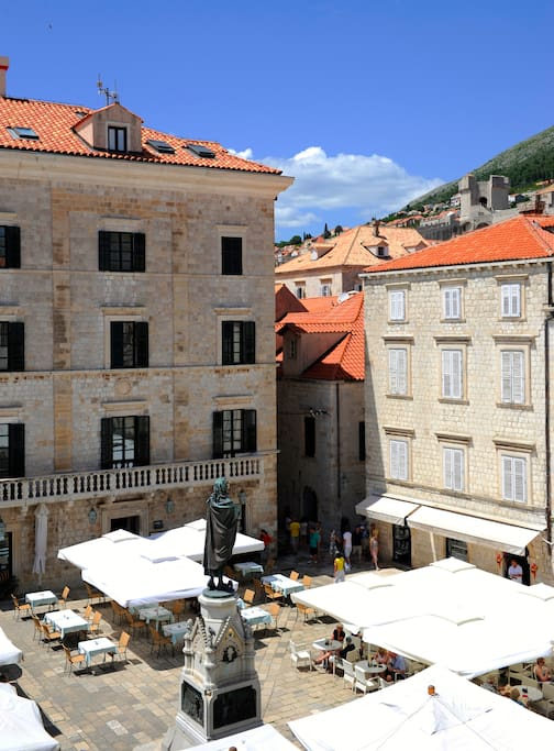 Room View: Gundulic Square & Pucic Palace