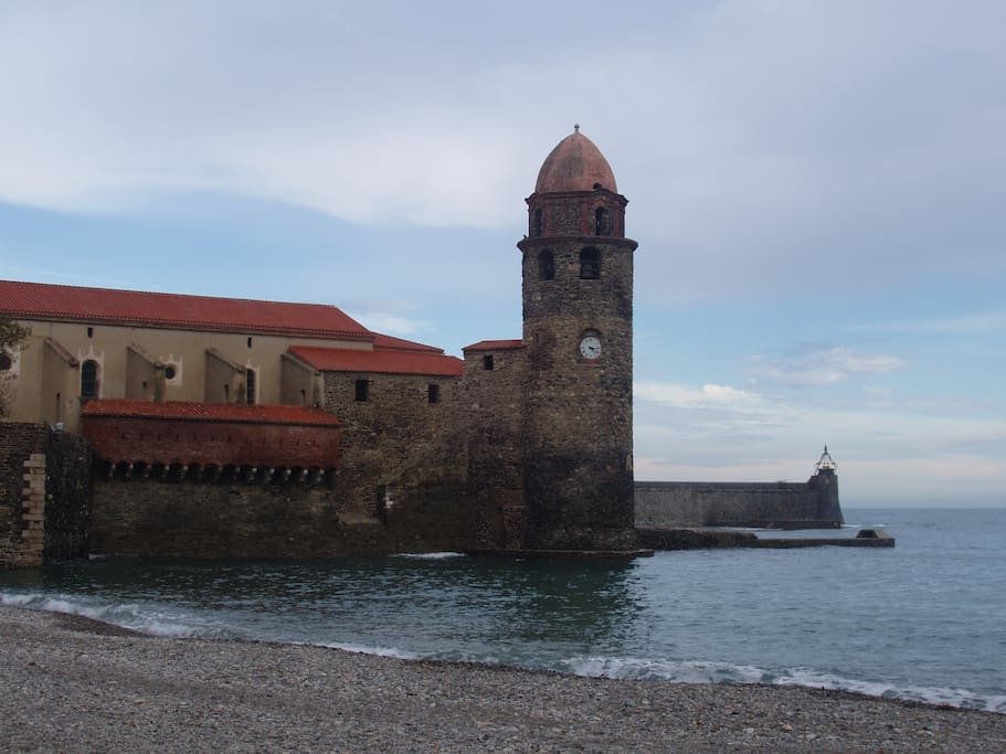 Collioure Church & Tower (the second most photographed tower in France!)