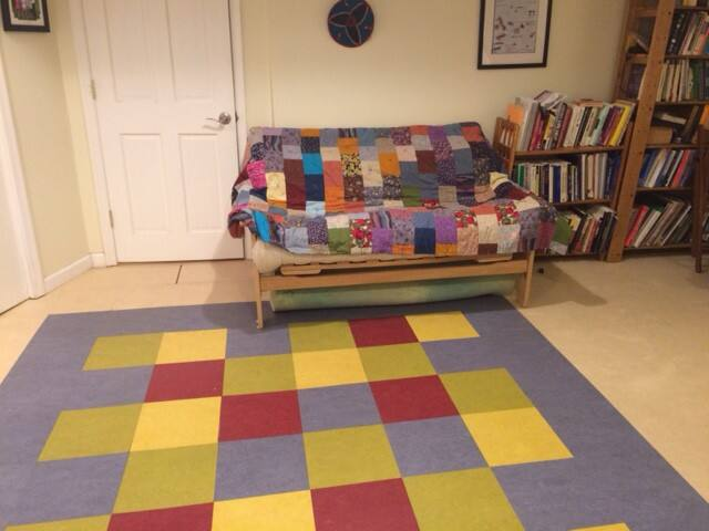 Colorful basement suite in leafy Takoma Park, MD
