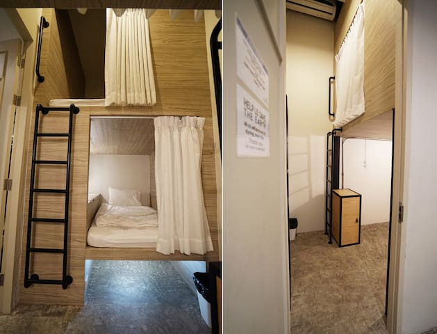 Triple Private bunk - room only(LUZ HOSTEL)