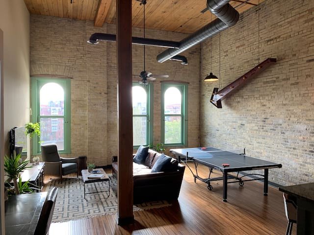 River View Loft in Historic Downtown Building