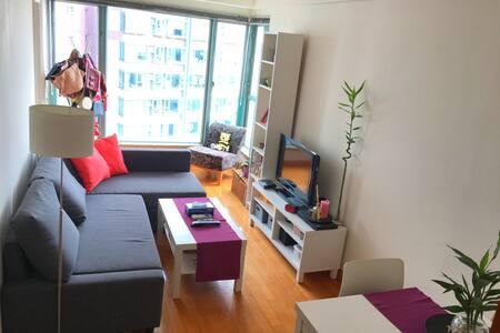 Cozy apt in sheung wan w/ nice view - Sheung Wan