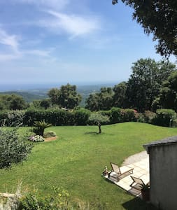 Mini villa dans propriété privée au calme - Sant'Andréa-di-Cotone - Rumah