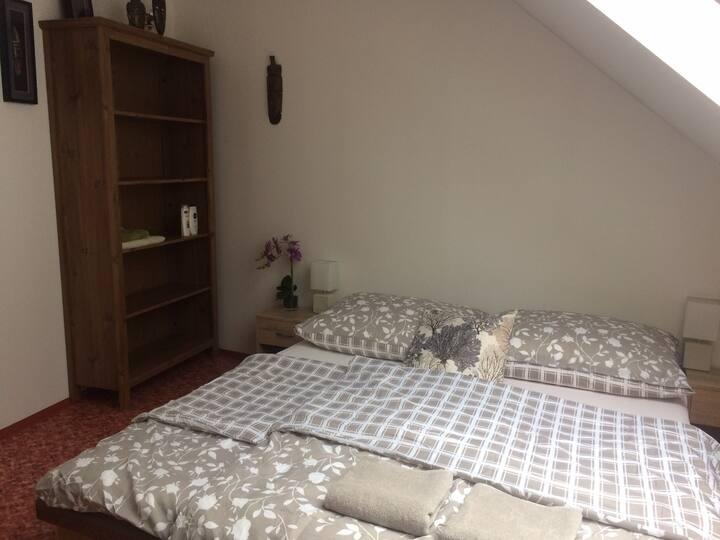 Želešice - soukromý pokoj v rodinném domě