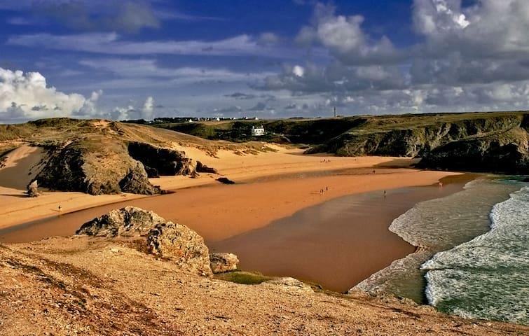 Maison proche de la belle plage de Donnant