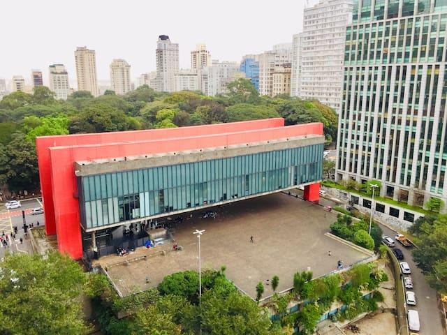 Duplex Av. Paulista Wi-Fi 250MB