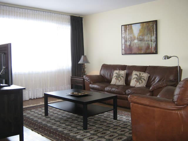 Beautiful and spacious Dorval apartment! - Dorval - Huoneisto