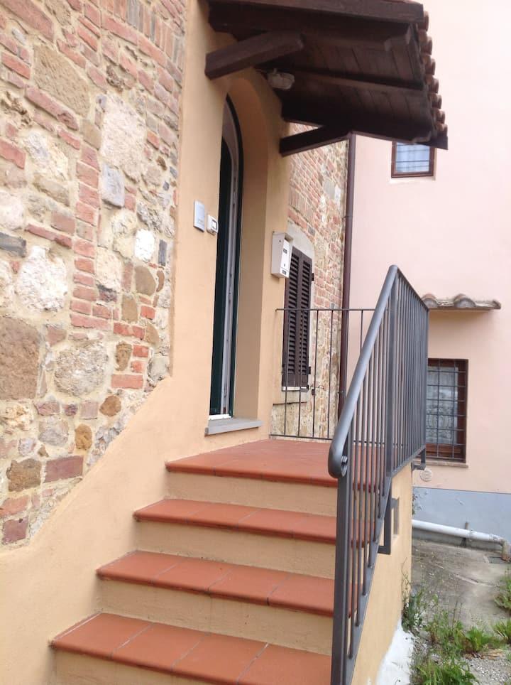 Casa con vista a  Montepulciano