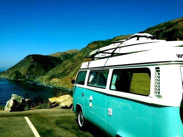 Coachella Hippie Bus