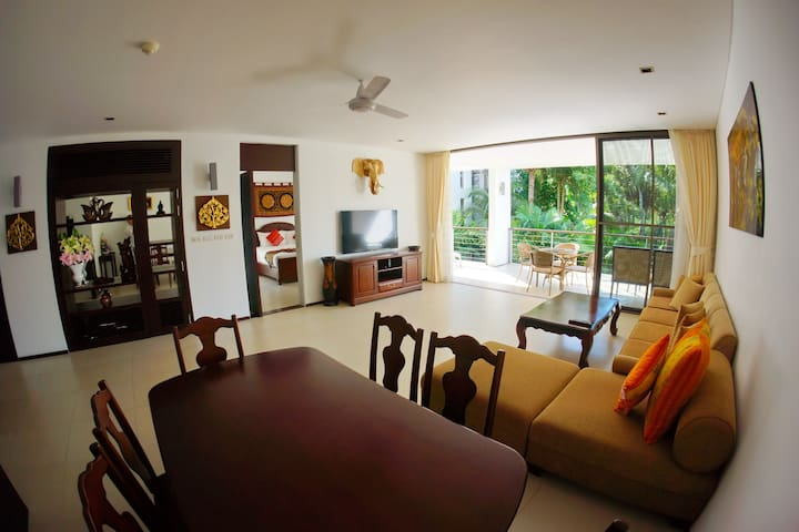 Casuarina Shores Luxury 140m2 Two Bedroom Apartment with Terrace 200m to BangTao Beach 14N