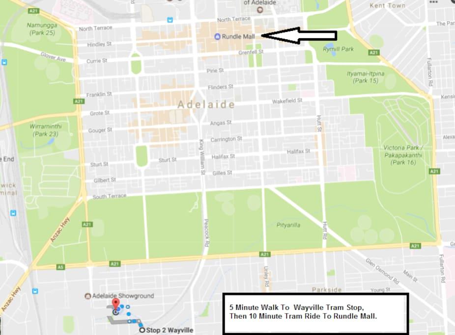 A quiet, tree lined setting just minutes by tram to Adelaide's CBD.