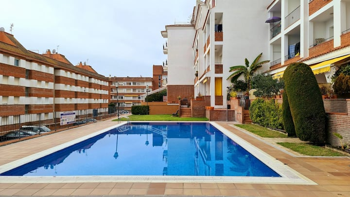 Apartment Los Fresnos 300m from the beach, 2 bedrooms, swimming pool