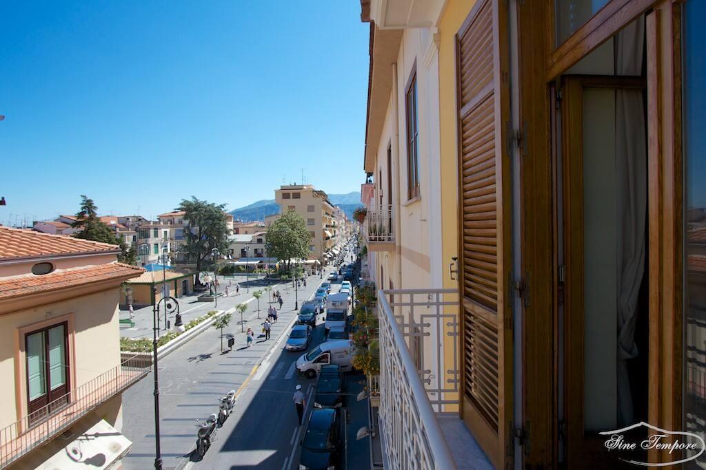 Vista Corso Italia e piazza A.Veniero