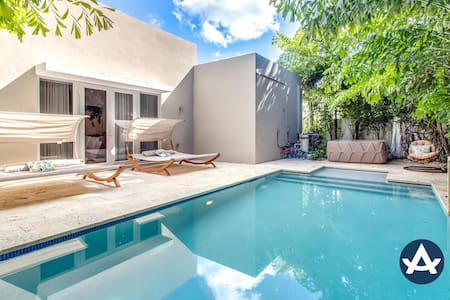 Sextant | Biscayne Residence I | Heated Pool + Hot Tub | 10 mins to South Beach