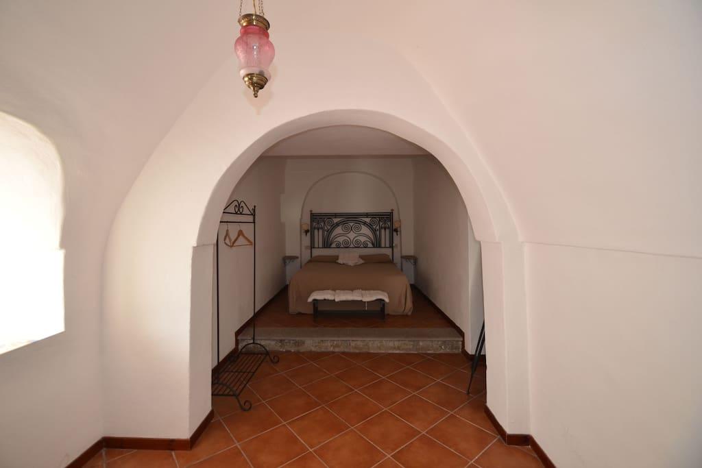 Camera matrimoniale con anticamera