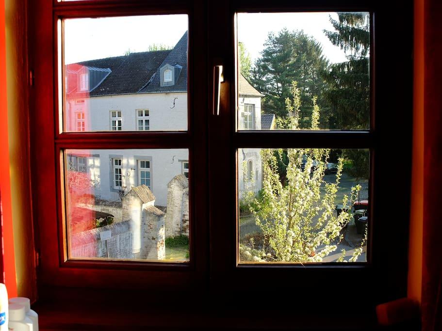Blick aus dem Gästezimmer