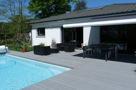 Luminous House with heated pool  - Le Taillan-Médoc - 別荘